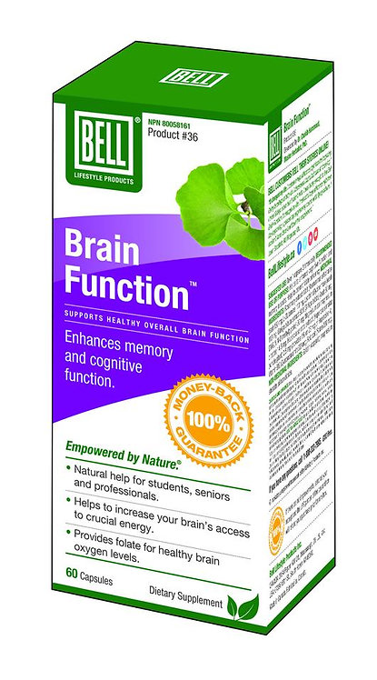 Brain Function 603 mg x 60 Capsules