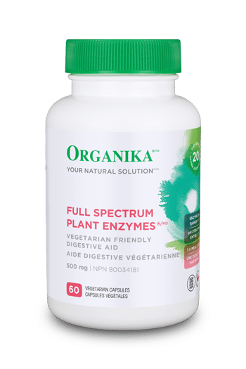 Full Spectrum Plant Enzymes 500mg 60 caps