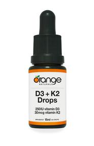 D3+K2 Drops 250IU/30mcg 15ml