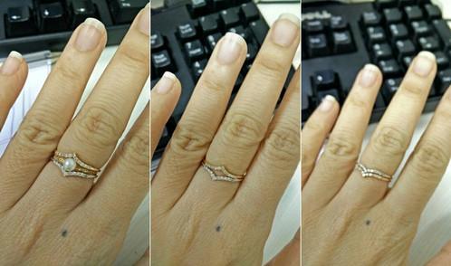 VShaped Pave Set Diamond Wedding Band FG117 Chic R Me Simple