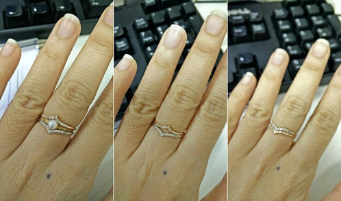 V Shaped Pave Set Diamond Ring Guard With 11 Beautiful Diamonds Delicately Width 1mm Material 18k Gold Gemstone Size