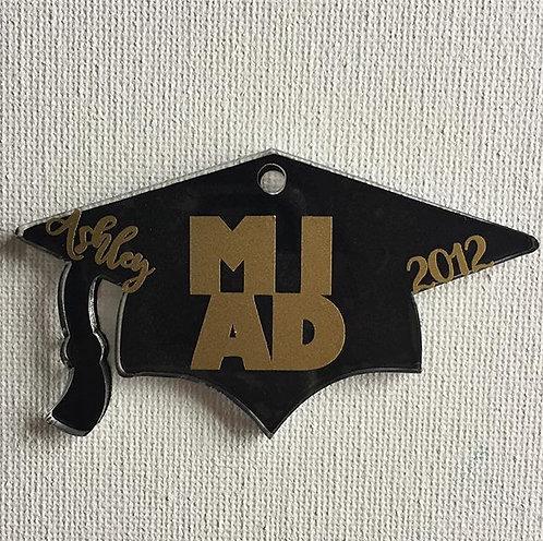 Graduation Hat Keychains