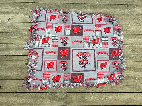 Grey Badger Pet/Lap Blanket