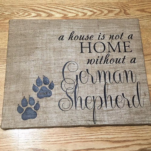 A house is not a home without a...
