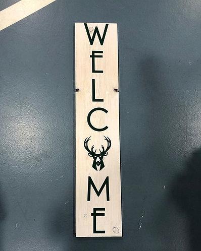 Milwaukee Bucks Welcome Sign