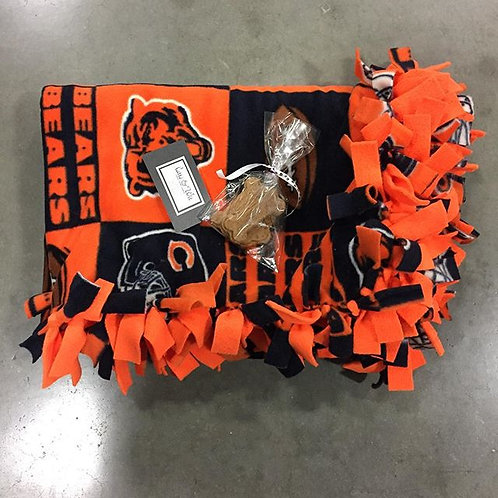 Chicago Bears Pet/Lap Blanket