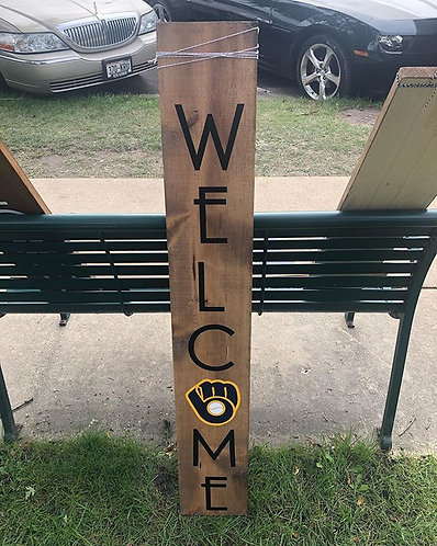 4' Sports|State Double Sided Sign