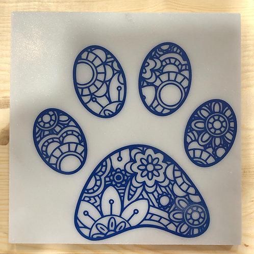 Paw Marble Coaster