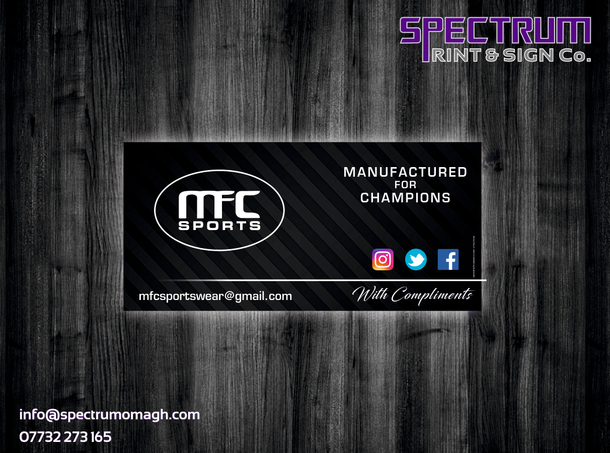 Stationery | Omagh | Spectrum Print & Sign Co