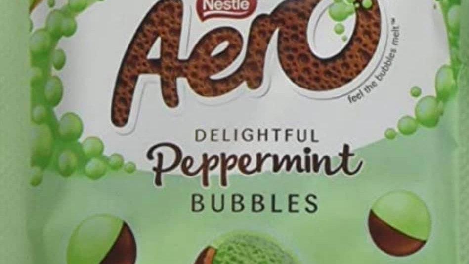 Aero Peppermint Bubbles Pouch