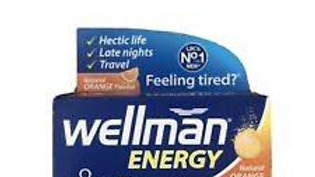 Wellman Energy Effervescent tabs