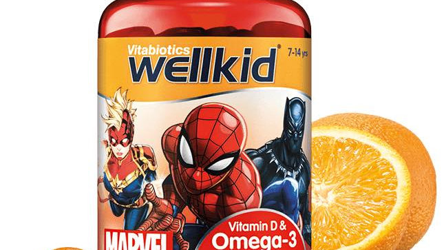 Wellkid Marvel Omega-3