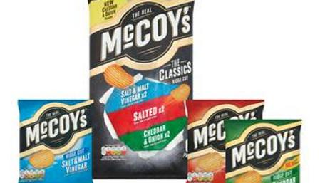 McCoy's Classic Variety Pack Crisps 6x25g