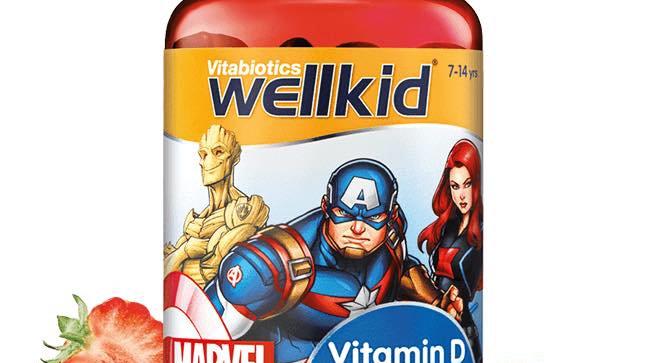 Wellkid Marvel Vitamin D
