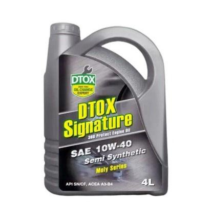 DTOX Signature 10W40 Semi Syn