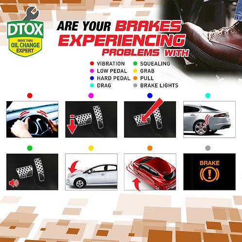 DTOX Brake Flush Package Dot 5.1 (Asian cars)