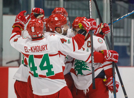 Lebanon scores winning goal with only 56 seconds left and win game 2 of 2 against Argenteuil