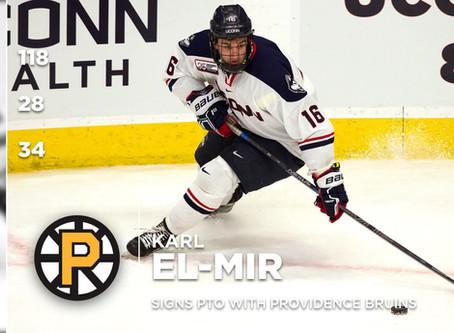 Karl El-Mir Signs with AHL's Providence Bruins