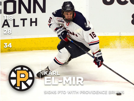 Karl El-Mir Signs with AHL's Providence Bruins