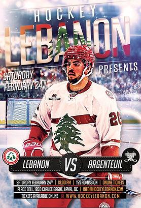 LEBANON VS ARGENTEUIL