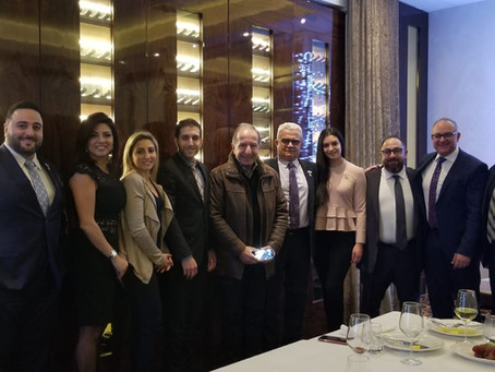 Mr. Jean Hammam met with the LIHF during his visit to Montréal
