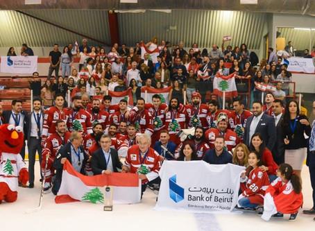 حصل الاتحاد اللبناني للهوكي على الجليد على الموافقة الرسمية من وزارة الشباب والرياضة اللبنانية