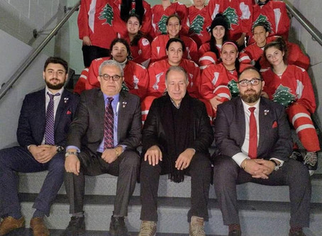 Lebanon's first women's ice hockey team formed