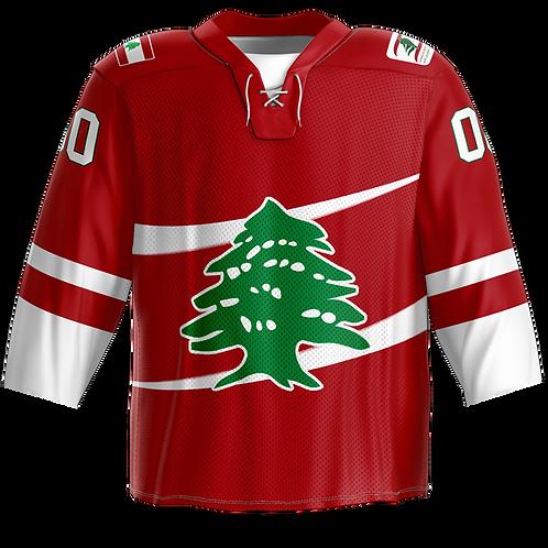Official - Team Lebanon Hockey Jersey