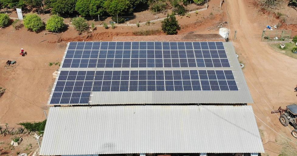 Agronegócio com Sistema Fotovoltaico