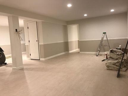 Basement After Renovation