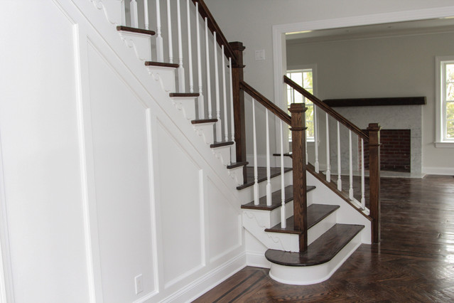 Refinished staircase
