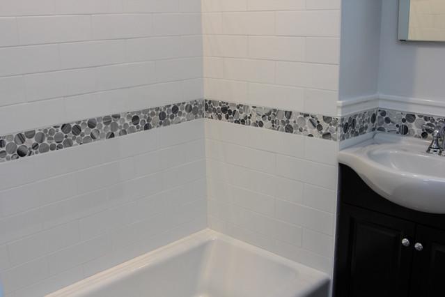 New Bathroom Tile Work