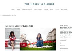 Tastemaker for The Nashville Guide