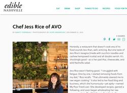 Edible Magazine feature