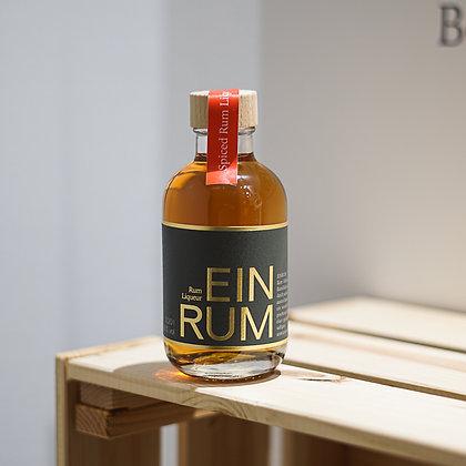 EINRUM Spiced Rum Liqueur, 0,2L 38 % Vol.