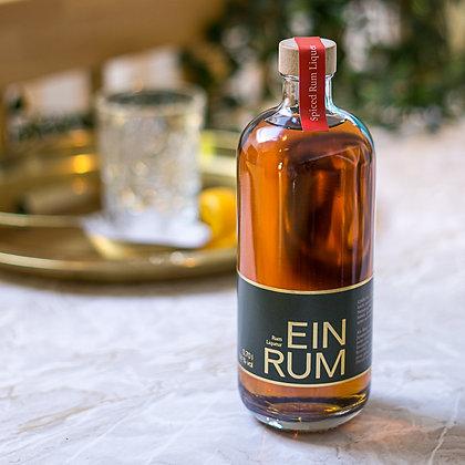EINRUM Spiced Rum Liqueur, 0,7L 38 % Vol.