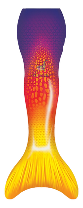 Ruby Sunshine Mermaid Tail