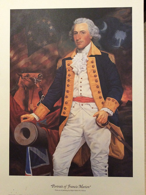 The Swamp Fox Print (13x18) $24.99