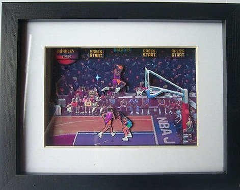 NBA Jam 3D Diorama Shadow Box