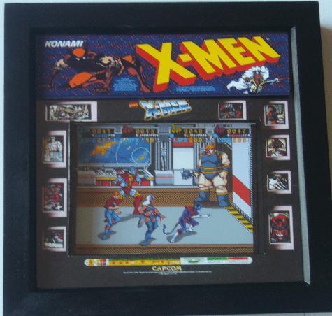 X-MEN Arcade Screen 3D Diorama Shadow Box