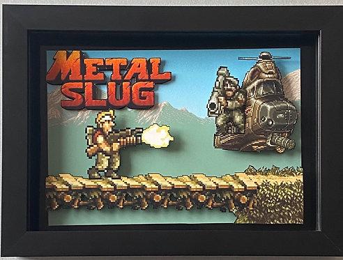Metal Slug 3D Diorama Shadow Box