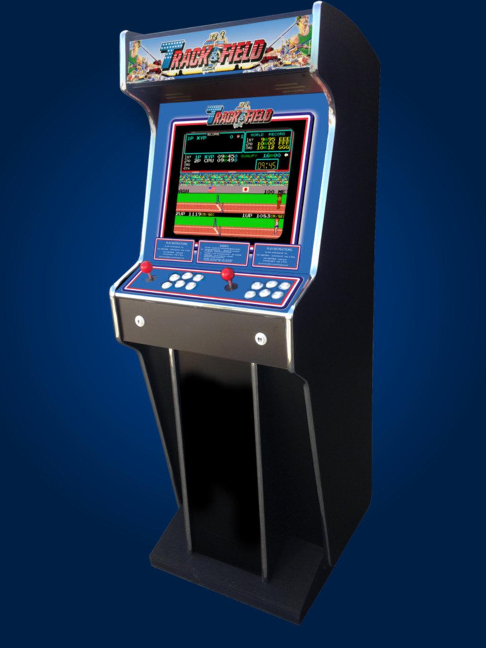 Track & Field Arcade   arcade-base