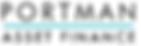 Portman Asset Finance Logo StandardSMALL