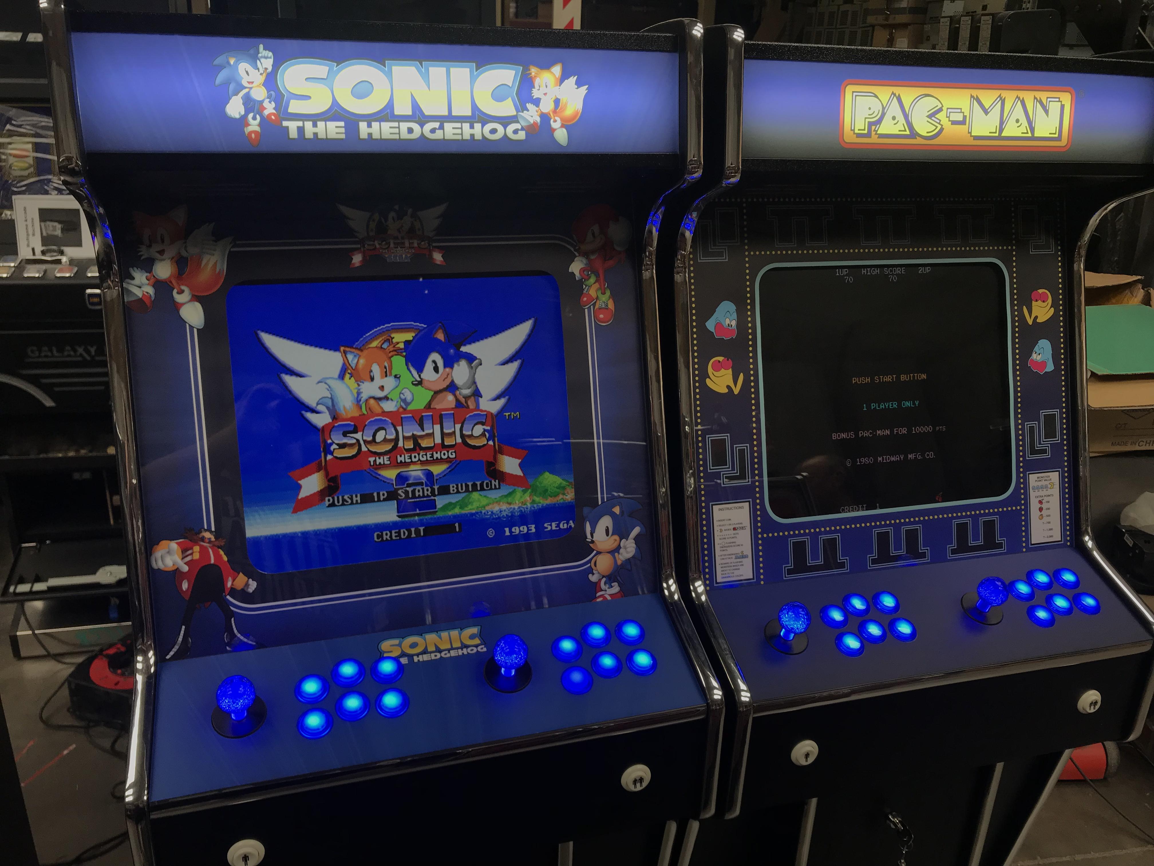 Sonic & Pacman