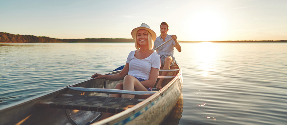 Three places to paddle a canoe around Denmark