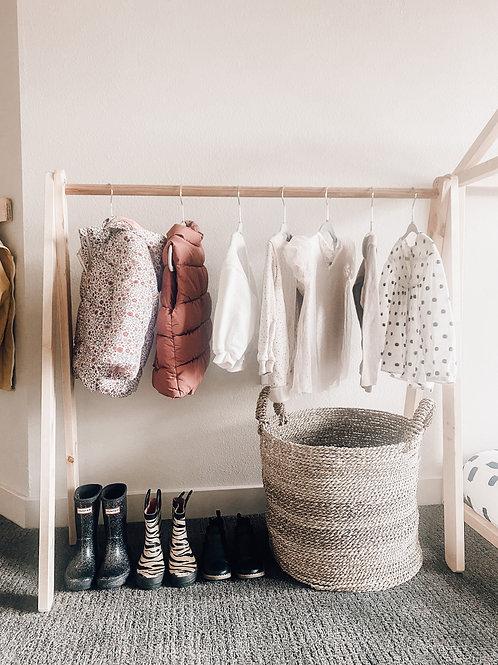 Toddler Wardrobe Rack