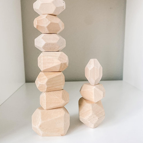 Wood BLocks- Stacking Stones