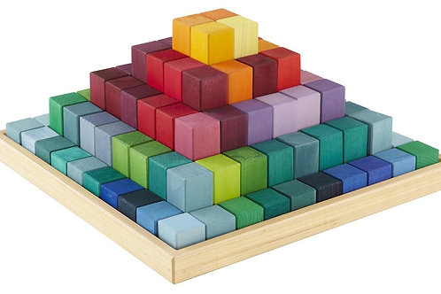 Wooden Blocks Stepped Pyramid