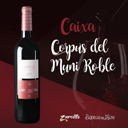 > Caixa Vinho Tinto - Corpus del Muni Roble