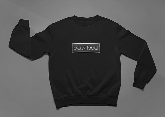 Black Label Unisex Crewneck